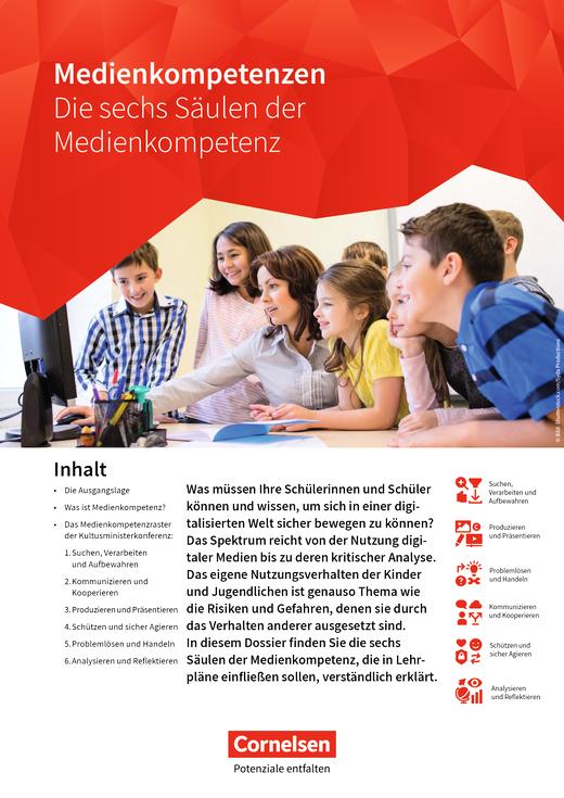 Die sechs Säulen der Medienkompetenz - Arbeitsblatt