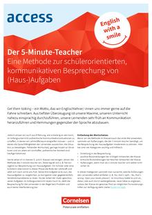 Access - 5-Minute-Teacher - Best Practice