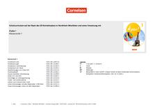 À plus ! Neubearbeitung - Schulcurriculum auf der Basis des G9 Kernlehrplans in Nordrhein-Westfalen - Band 1