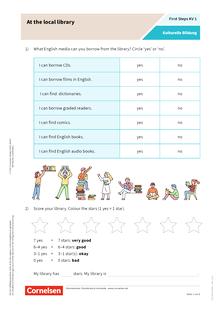 First Steps: Schreiben hilft beim Englischlernen - Help Mr Mole - Arbeitsblatt