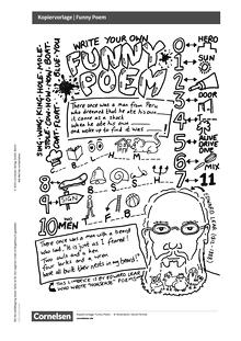 Access - Access English Challenge - Funny Poem - Arbeitsblatt