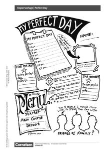 Access - Access English Challenge - Perfect Day - Arbeitsblatt