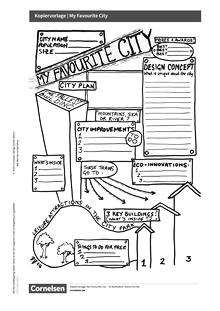 Access - Cornelsen English Challenge - Favourite City - Kopiervorlage