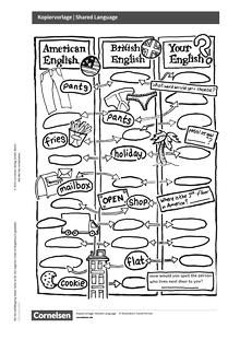 Access - Access English Challenge - Shared Language - Kopiervorlage