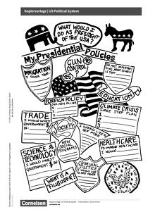Access - Access English Challenge - US Political System - Arbeitsblatt
