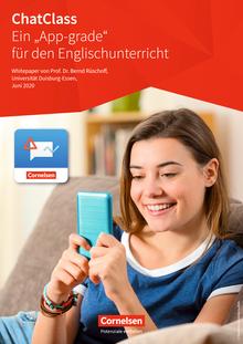 """ChatClass - ein """"App-grade"""" für den Englischunterricht - Arbeitsblatt"""