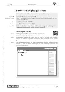 À plus ! Neubearbeitung - Medienkompetenz fördern - Ein Wortnetz digital erstellen - Unterrichtsbeispiel - Band 1