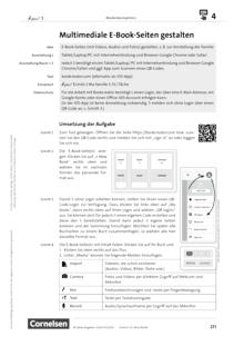 À plus ! Neubearbeitung - Medienkompetenz fördern - Multimediale E-Book-Seiten gestalten - Unterrichtsbeispiel - Band 1