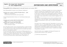 Entdecken und verstehen - Klasse 6: Neues Fach und Frühgeschichte - Lernplan - Lehrerfassung - Band 1