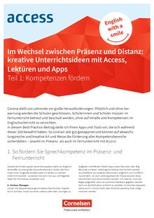 Access - Präsenz- und Distanzunterricht Teil 1 - Kompetenzen fördern - Best Practice