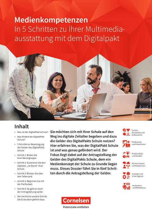 In 5 Schritten zu Ihrer Multimediaausstattung mit den Digitalpakt - Whitepaper - Arbeitsblatt