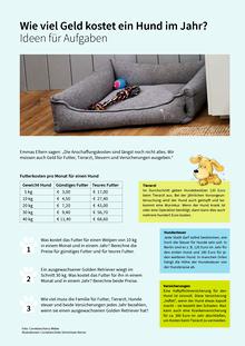 Wie viel Zeit brauche ich für den Hund? - Ideen - Arbeitsblatt