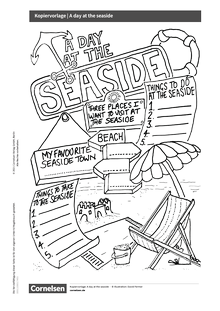 Access - Cornelsen English Challenge - Day at the Seaside - Arbeitsblatt