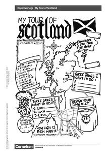 Access - Cornelsen English Challenge - My Tour of Scotland - Arbeitsblatt