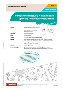 Klexer: Unterwasserwelt-Mobile - Kopiervorlagen