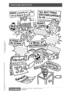 English G Lighthouse / English G Headlight / English G Highlight - Cornelsen English Challenge - April Fools' Day - Arbeitsblatt