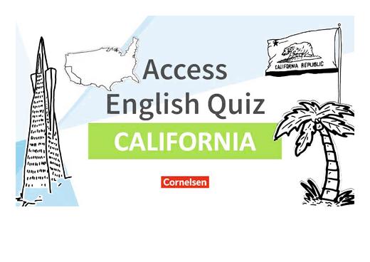English G Access - Access English Quiz - California - Powerpoint - Band 4/5: 8./9. Schuljahr