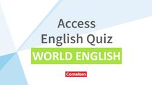 Access - Access English Quiz - English Speaking World - Powerpoint - Band 4/5: 8./9. Schuljahr