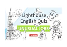English G Lighthouse / English G Headlight / English G Highlight - Lighthouse English Quiz - Unusual Jobs - Powerpoint - Band 4/5: 8./9. Schuljahr