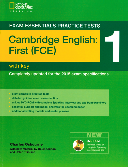 Exam Essentials Practice Tests - Practice Tests 1 - Practice Tests with Key and DVD-ROM - Cambridge English: First (FCE)