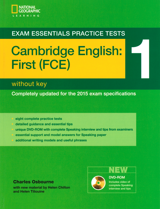 Exam Essentials Practice Tests - Practice Tests 1 - Practice Tests without Key, with DVD-ROM - Cambridge English: First (FCE)