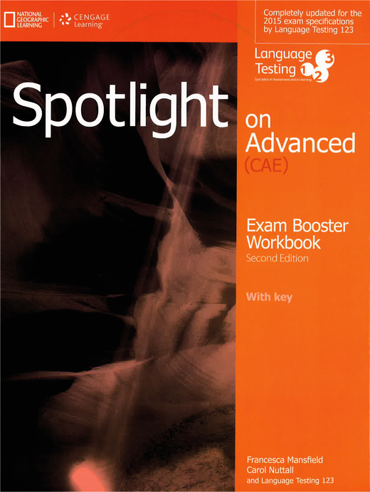 Spotlight - Exam Booster Workbook + Audio CD + Key