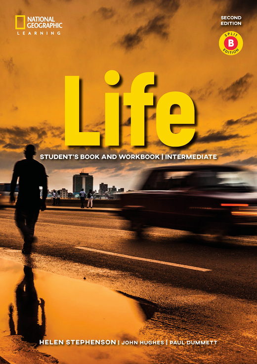 Life - Student's Book and Workbook (Combo Split Edition B) + Audio-CD + App - B1.2/B2.1: Intermediate