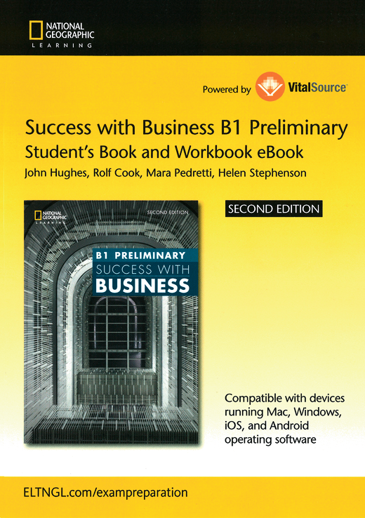 Success with Business - Student's E-Book and Workbook E-Book (Printed Access Card) - B1 - Preliminary