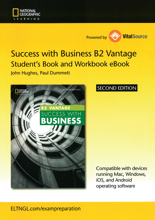Success with Business - Student's E-Book and Workbook E-Book (Printed Access Card) - B2 - Vantage