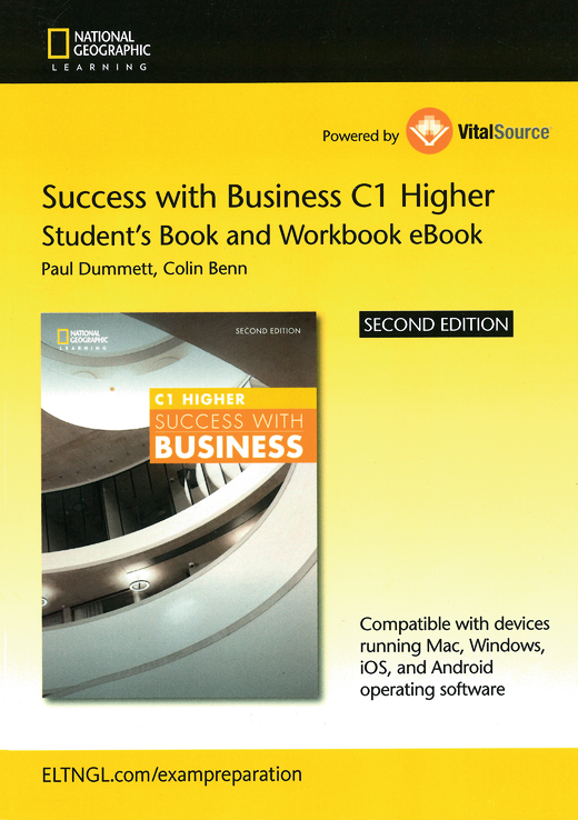 Success with Business - Student's E-Book and Workbook E-Book (Printed Access Card) - C1 - Higher