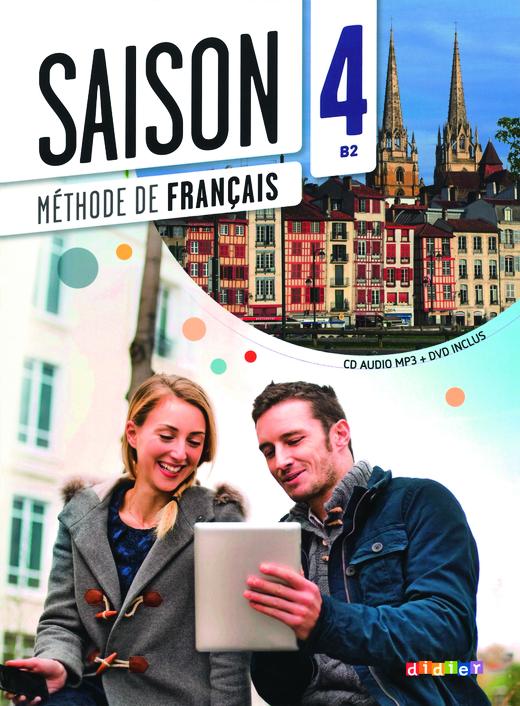 Saison - Kursbuch mit DVD-ROM - Band 4: B2