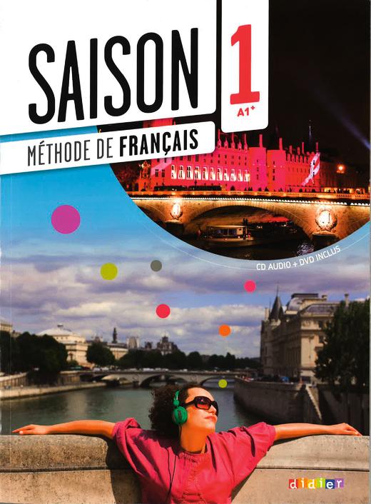Saison - Kursbuch mit DVD-ROM - Band 1: A1
