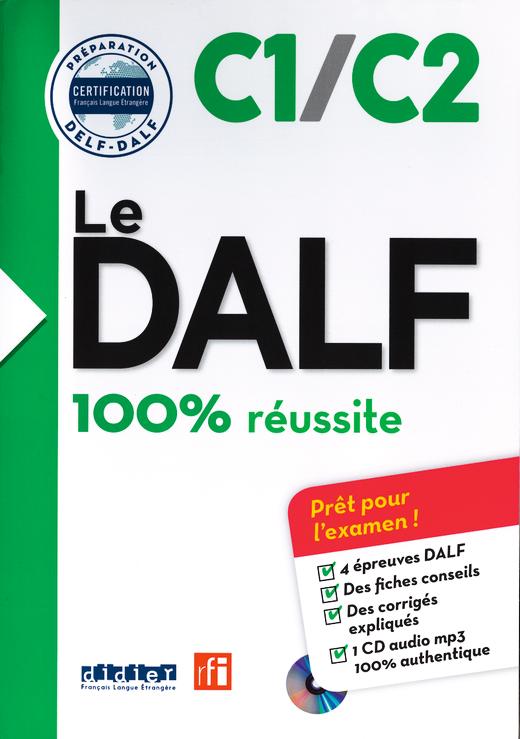 Le DALF - Buch mit MP3-CD - C1/C2