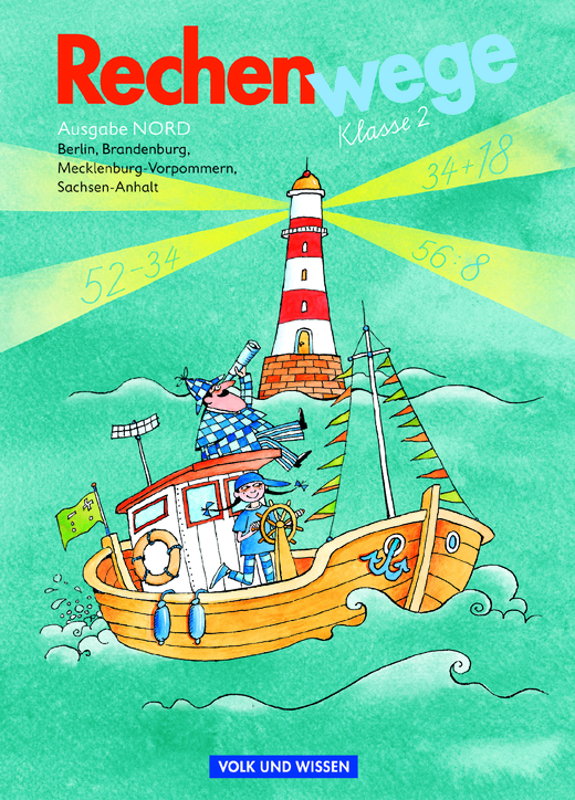 Rechenwege - Schülerbuch mit Kartonbeilagen - 2. Schuljahr