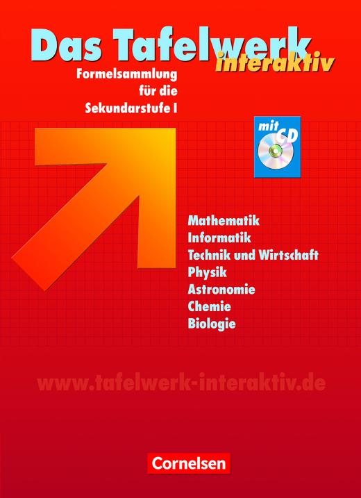 Das Tafelwerk interaktiv - Schülerbuch mit CD-ROM