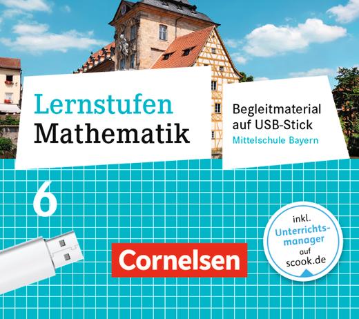 Lernstufen Mathematik - Begleitmaterial auf USB-Stick - 6. Jahrgangsstufe