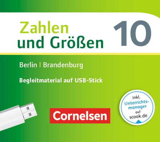 Zahlen und Größen - Begleitmaterial auf USB-Stick - 10. Schuljahr