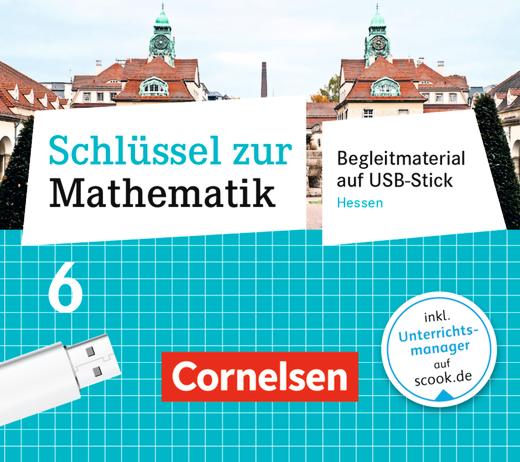 Schlüssel zur Mathematik - Begleitmaterial auf USB-Stick - 6. Schuljahr