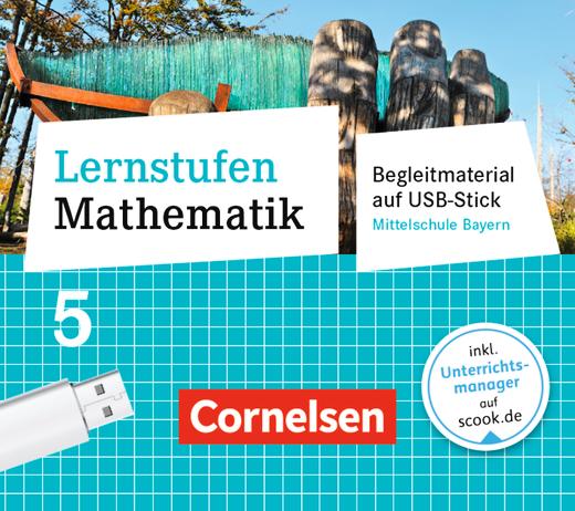Lernstufen Mathematik - Begleitmaterial auf USB-Stick - 5. Jahrgangsstufe