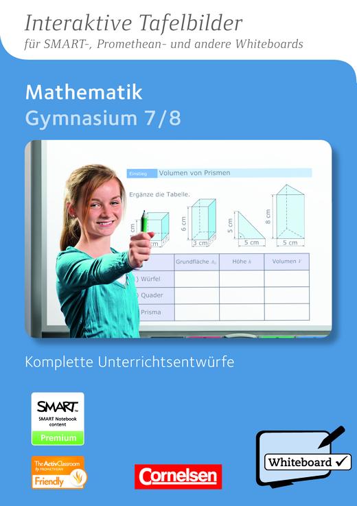 Interaktive Tafelbilder Mathematik - CD-ROM mit interaktiven Tafelbildern - 7./8. Schuljahr