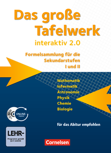 Das große Tafelwerk interaktiv 2.0 - Schülerbuch mit CD-ROM