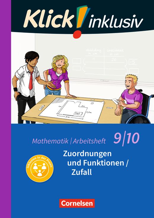 Klick! inklusiv - Zuordnungen und Funktionen / Zufall - Arbeitsheft 4 - 9./10. Schuljahr