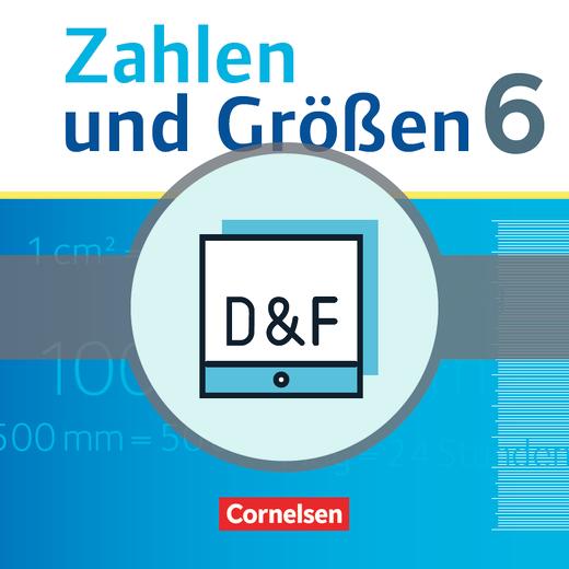 Zahlen und Größen - Diagnose und Fördern online - 6. Schuljahr