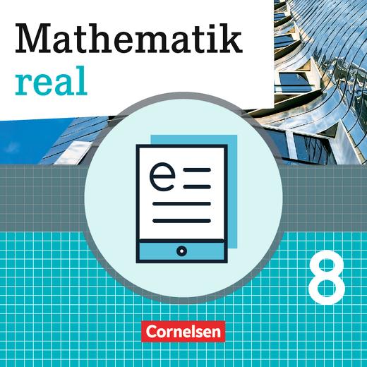 Mathematik real - Schülerbuch als E-Book - 8. Schuljahr
