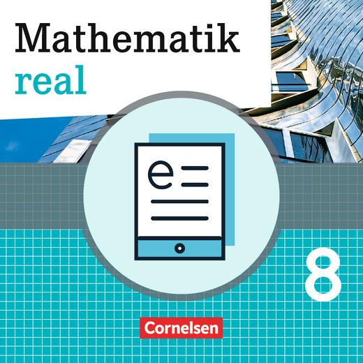 Mathematik real - Schülerbuch - Lehrerfassung als E-Book - 8. Schuljahr