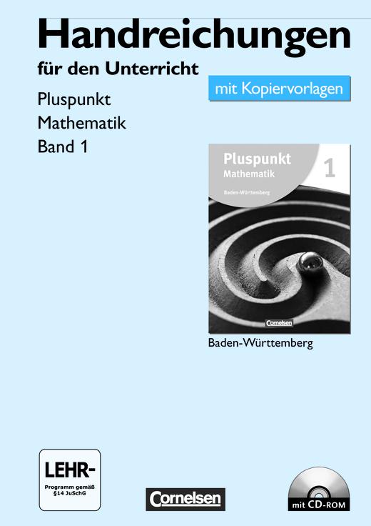 Pluspunkt Mathematik - Handreichungen für den Unterricht, Kopiervorlagen mit CD-ROM - Band 1