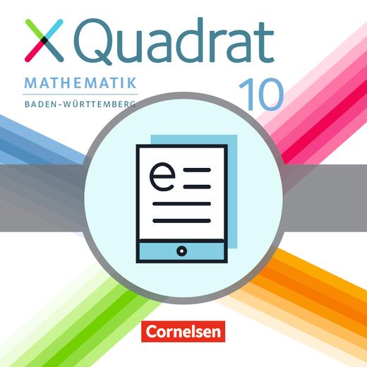 XQuadrat - Schülerbuch als E-Book - 10. Schuljahr