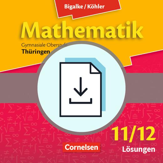 Bigalke/Köhler: Mathematik - Lösungen zum Ergänzungsheft Stochastik als Download - 11./12. Schuljahr