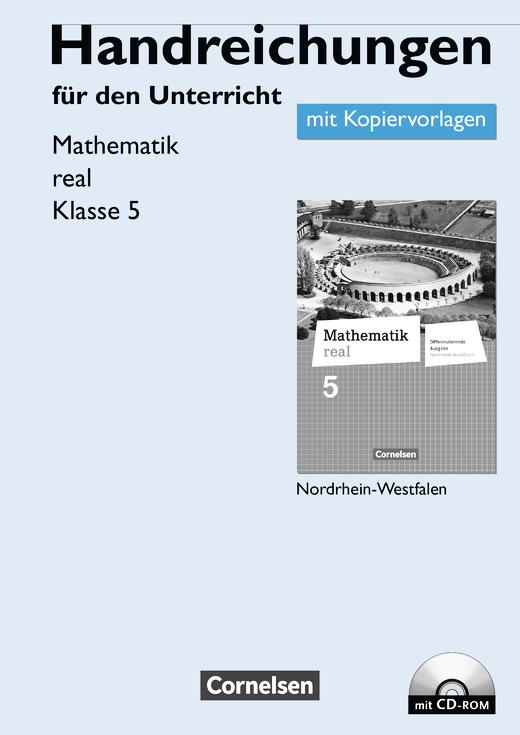 Mathematik real - Handreichungen für den Unterricht, Kopiervorlagen mit CD-ROM - 5. Schuljahr