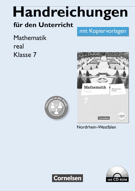 Mathematik real - Handreichungen für den Unterricht, Kopiervorlagen mit CD-ROM - 7. Schuljahr